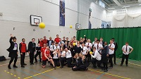 Students and staff go head to head to raise money for Sport Relief