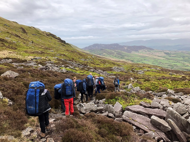 Outward Bound trip takes students to new heights