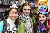 Students and staff have a blast on World Book Day
